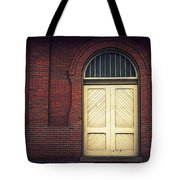 Railroad Museum Door Tote Bag