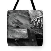 Railroad Trestle Tote Bag