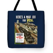 Railroad Workers Urgently Needed Tote Bag