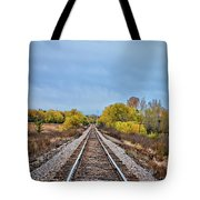 Rails To Parkersburg 2 Tote Bag