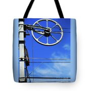 Railway Catenary Tote Bag