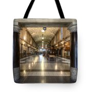 Railway Hall Tote Bag