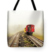 Railway To The Summit Tote Bag