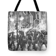 Rain And Wet. Tote Bag