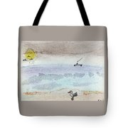 Rain Coming Tote Bag