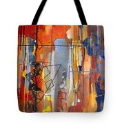 Rain Down Tote Bag
