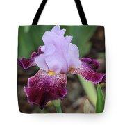 Rain Drop Iris Tote Bag