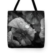 Rain Drops In The Morning Tote Bag