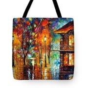 Rain Energy Tote Bag