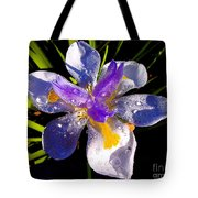 Rain Flower Morning Tote Bag