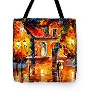 Rain Impression Tote Bag