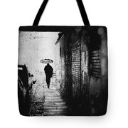 Rain In Berlin Tote Bag