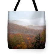 Rain In Smokies Tote Bag