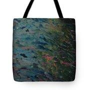 Rain In The Garden Tote Bag
