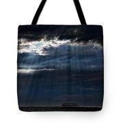 Rain Is Coming To Brighton Tote Bag