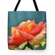 Rain And Rose Tote Bag
