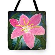 Rain Lily Tote Bag