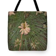 Rain N Flower Tote Bag
