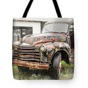 Rain On Rust 1 Tote Bag