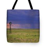 Rain On The Plains Tote Bag