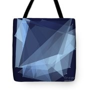 Rain Polygon Pattern Tote Bag