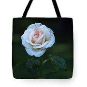 Rain Rose Tote Bag