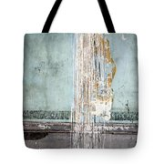 Rain Ruined Wall Tote Bag