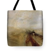 Rain Steam And Speed Tote Bag