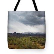 Rain Up North Tote Bag