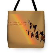Rainbow And Copper Tote Bag