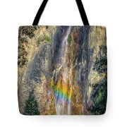 Rainbow At Bridal Veil Tote Bag