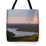 Rainbow At Broken Bow Lake Tote Bag