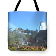 Rainbow At The Falls Tote Bag