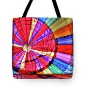 Rainbow Balloon Tote Bag