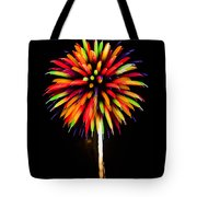 Rainbow Balloons Tote Bag
