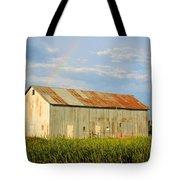 Rainbow Barn Tote Bag