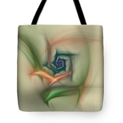 Rainbow Basic Flower Tote Bag