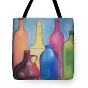 Rainbow Bottles Tote Bag