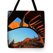 Rainbow Bridge Sunrise Tote Bag