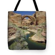 Rainbow Bridge Upstream Tote Bag