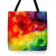 Rainbow Bubbles Tote Bag