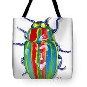 Rainbow Bug Tote Bag
