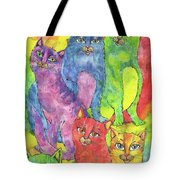 Rainbow Cats 2017 07 01 Tote Bag