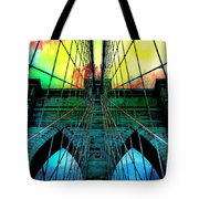 Rainbow Ceiling  Tote Bag
