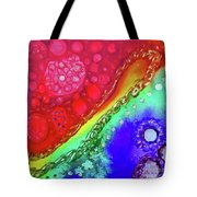 Rainbow Coaster  Tote Bag