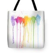Rainbow Color Tote Bag