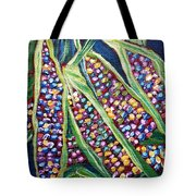 Rainbow Corn Tote Bag