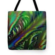 Rainbow Crystals Tote Bag