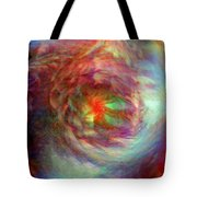 Rainbow Dreams Tote Bag by Linda Sannuti