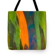 Rainbow Eucalyptus 5 Tote Bag